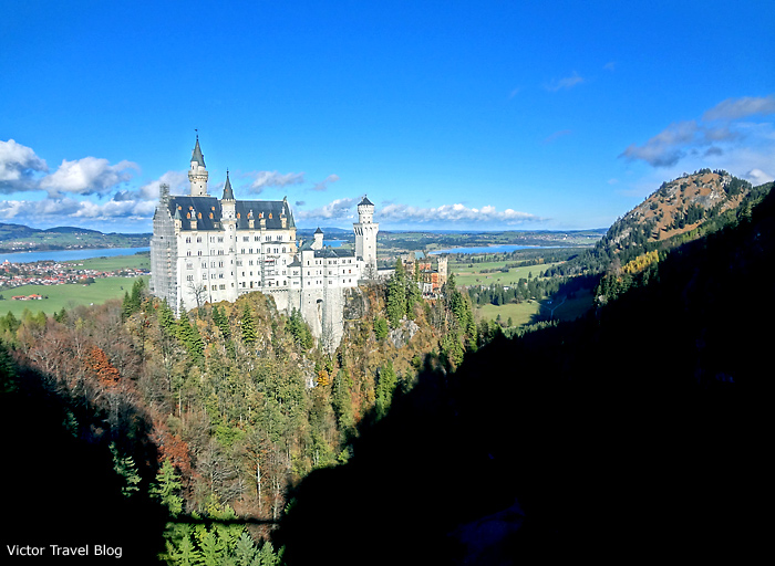 Neuschwanstein Castle, Bavaria.