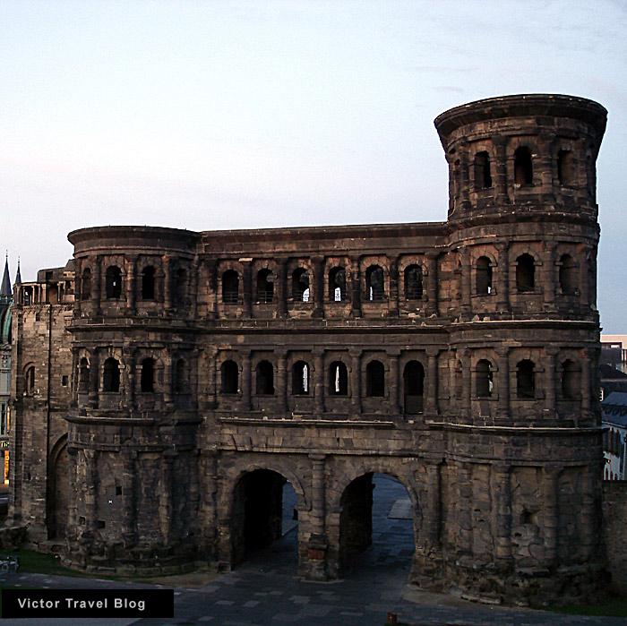 Porta Nigra. Trier. Germany.