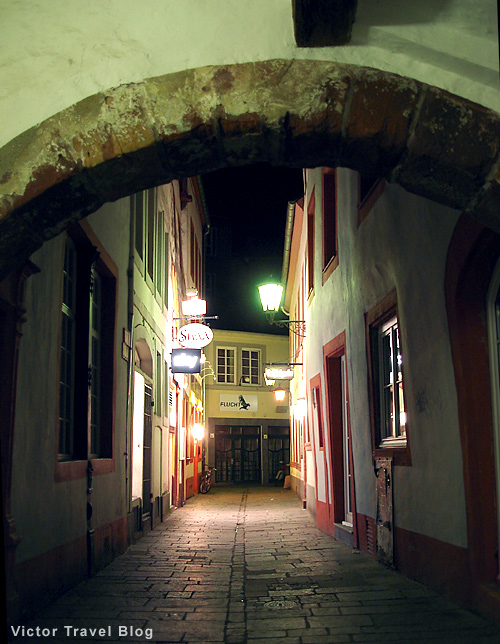 Streets of Trier. Germany.