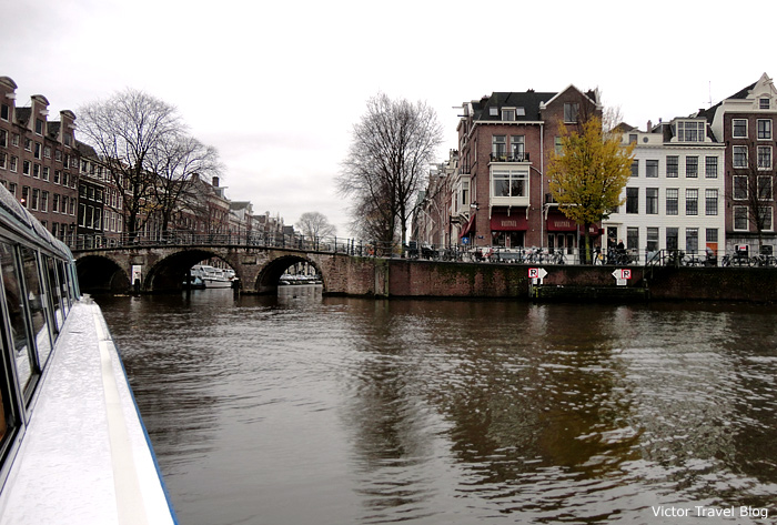 Canals of Amsterdam, The Netherlands.