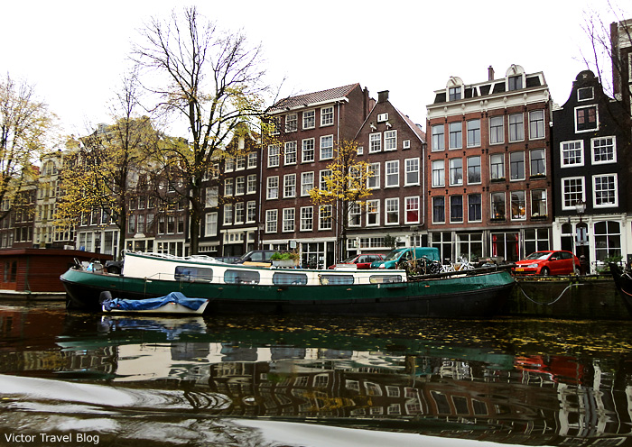 Boat-house. Amsterdam, The Netherlands.