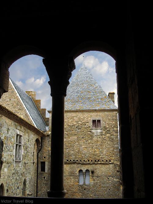 Cite de Сarcassonne. Languedoc, France.