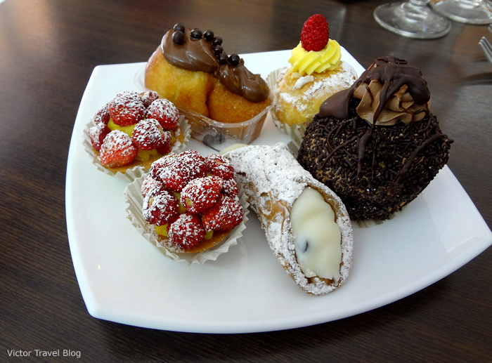 Dolci of Italy. Sweets of Italy.