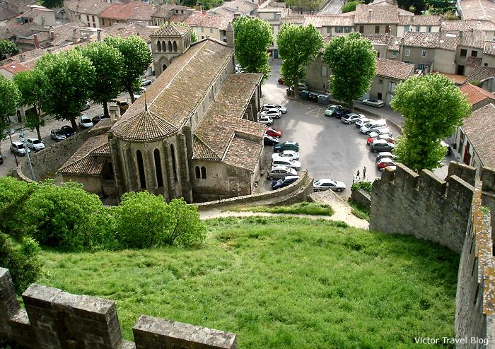Eglise Saint-Gimer. La Сite de Сarcassonne, Languedoc, France.