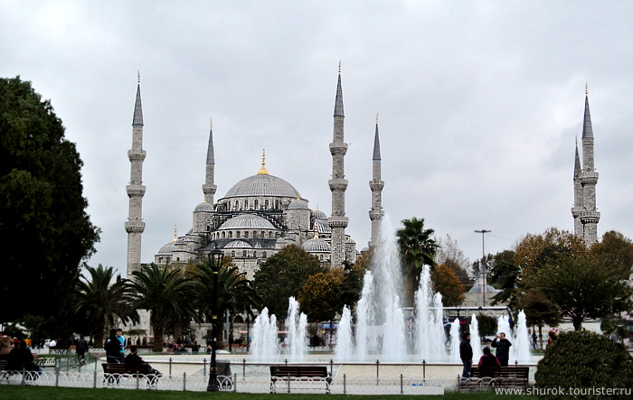 The Hagia Sophia. Istanbul, Turkey.