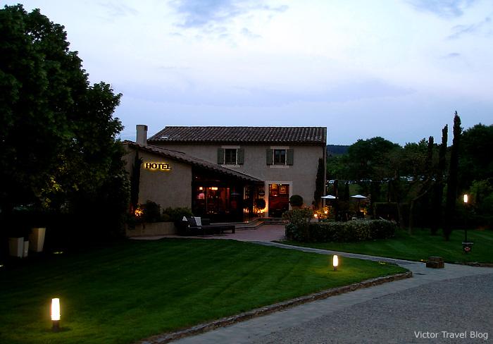 The Hotel Du Chateau. Languedoc, France.