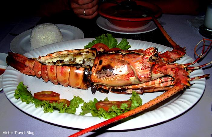 Lobster, Phuket Island, Thailand.