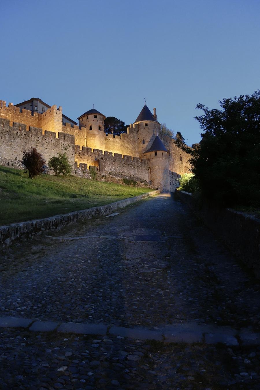 The Cite De Carcassonne, France.