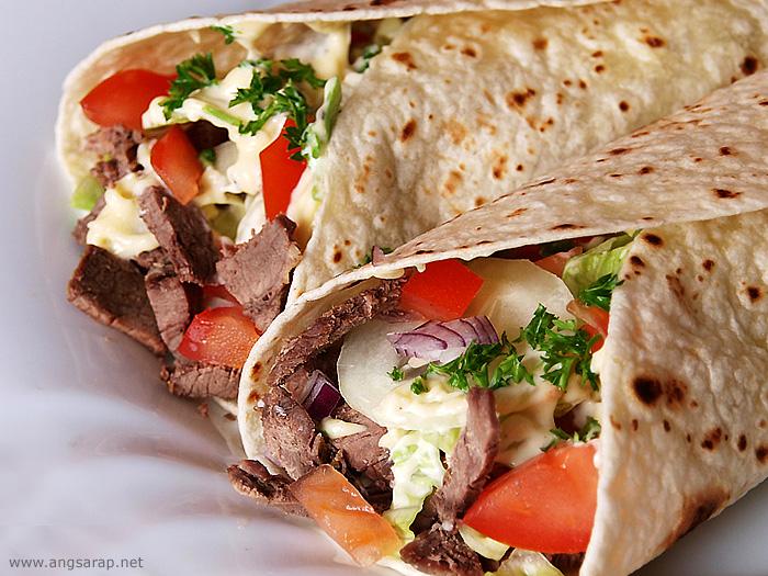 Shawarma. Istanbul, Turkey.