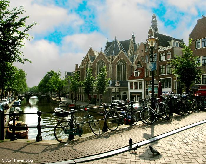 De Oude Kerk. Amsterdam, The Netherlands.
