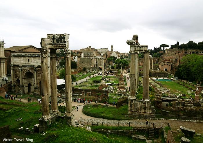 The Roman Forum, Italy.