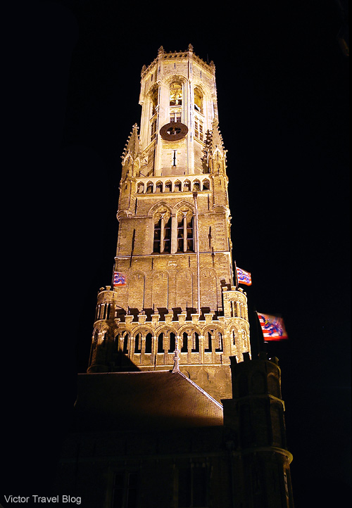 The Belfry of Bruges, or Belfort, is a medieval bell tower in the historical centre of Bruges, Belgium.