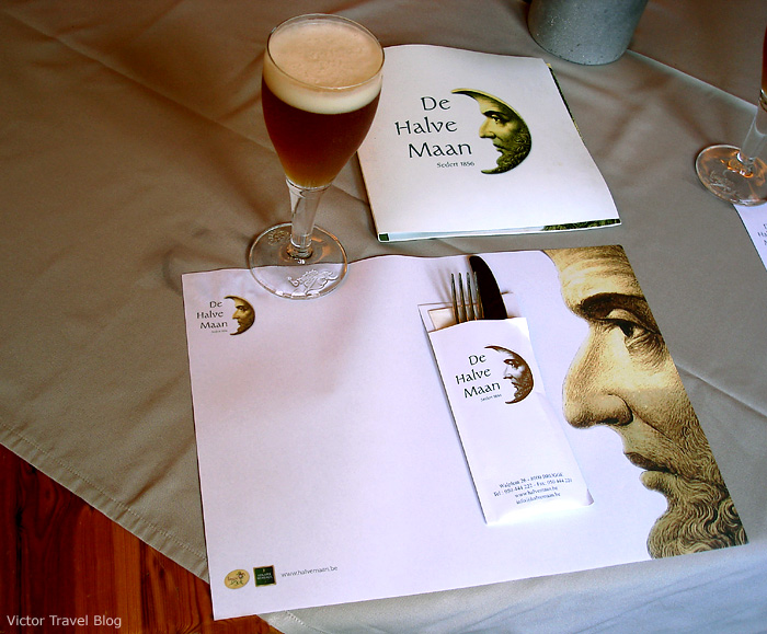 De Halve Maan is the only family brewery in the centre of Bruges, Belgium, that is still active.