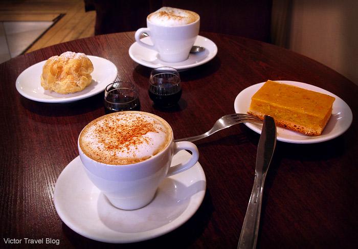 Coffee with Black Balsam. Riga. Latvia.