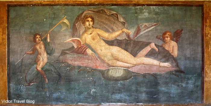 Venus. The House of Venus. Pompeii, Italy.