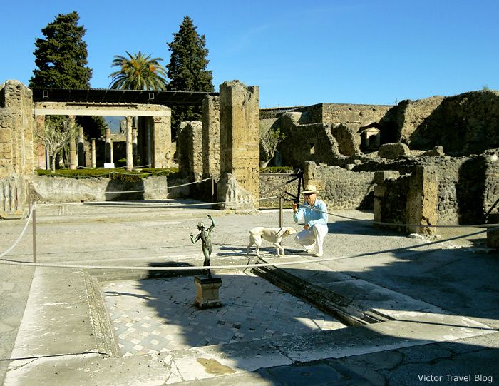 The House of the Faun. Pompeii, Italy.