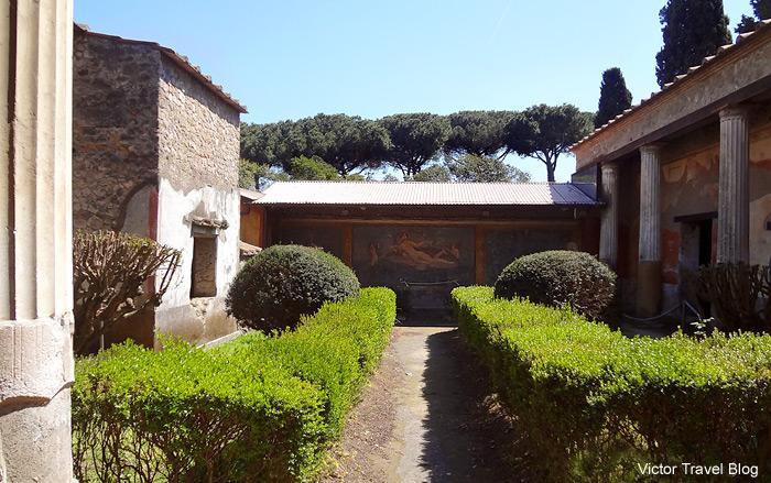 The House of Venus. Pompeii, Italy.