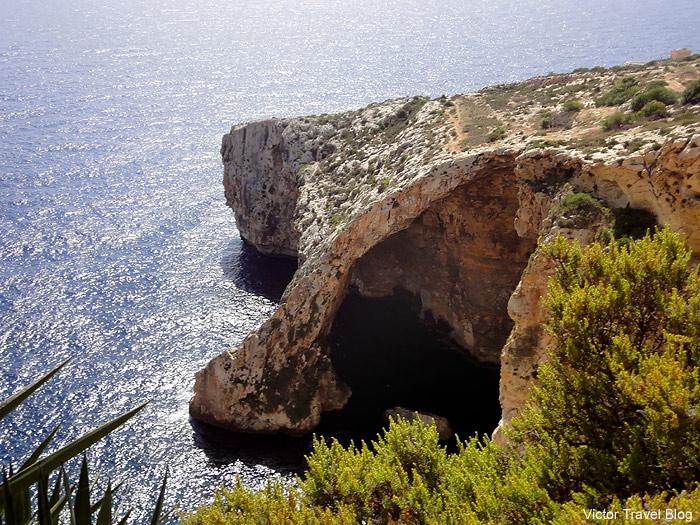 Blue Grotto. Malta.