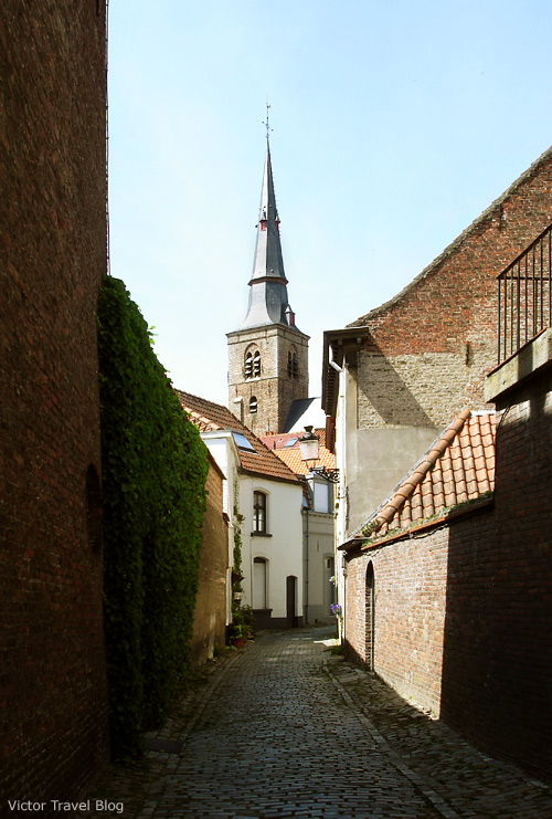 Saint Anna's Church of Bruges, Belgium.