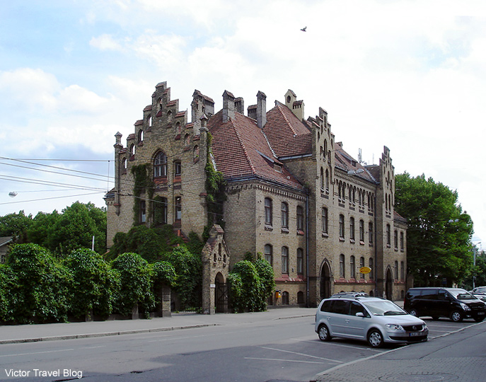 Hospital in Riga, the capital of Latvia.