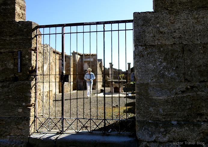 Casa degli Scienziati o Gran Lupanare. Pompeii, Italy.