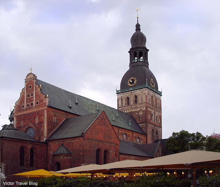 The Riga Cathedral or Rīgas Doms. Latvia.