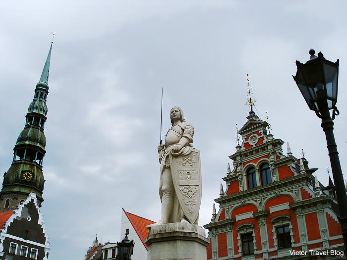 The Roland Statue. Riga, Latvia.