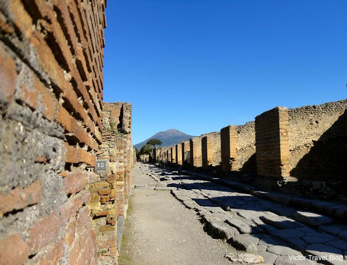 Ruins of Pompeii. Italy.