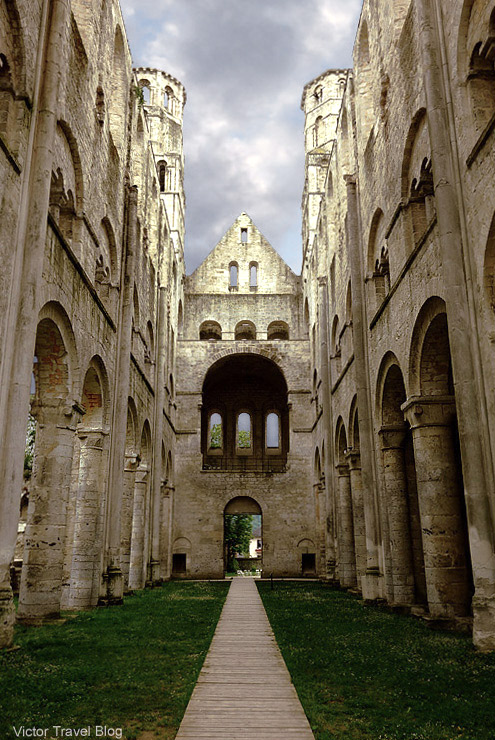 Benedictine abbey of Jumiege, Ftance.s