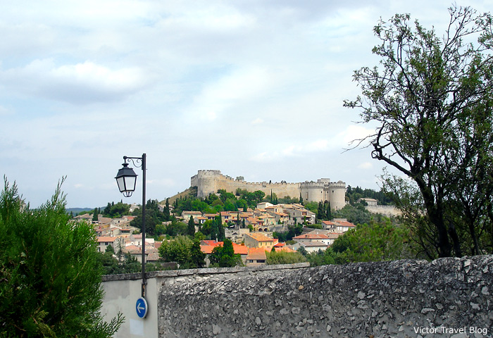 The view of the Fort Saint-Andre. Avignon, France.
