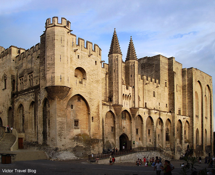 The Popes' Palace. Avignon, France.