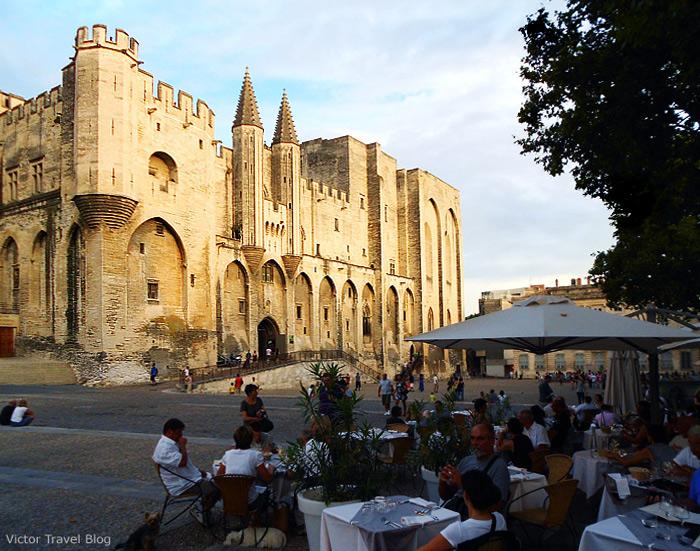 Avignon Papal Palace. France.