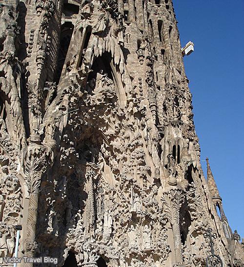Sagrada Familia by Antonio Gaudi. Barselona, Spain.
