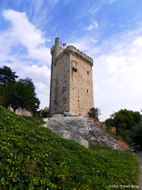 Philippe le Bel Tower. Avignon, France.