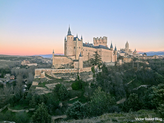 The Alcazar of Segovia - literally, Segovia Castle.