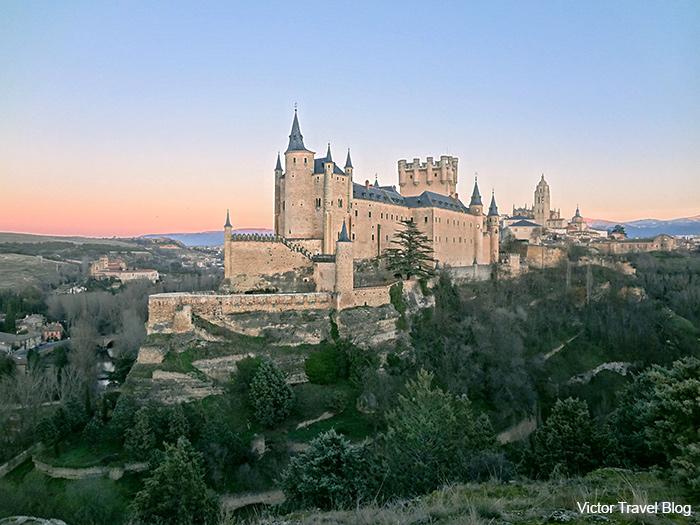 The Alcazar of Segovia - literally, Segovia Castle.