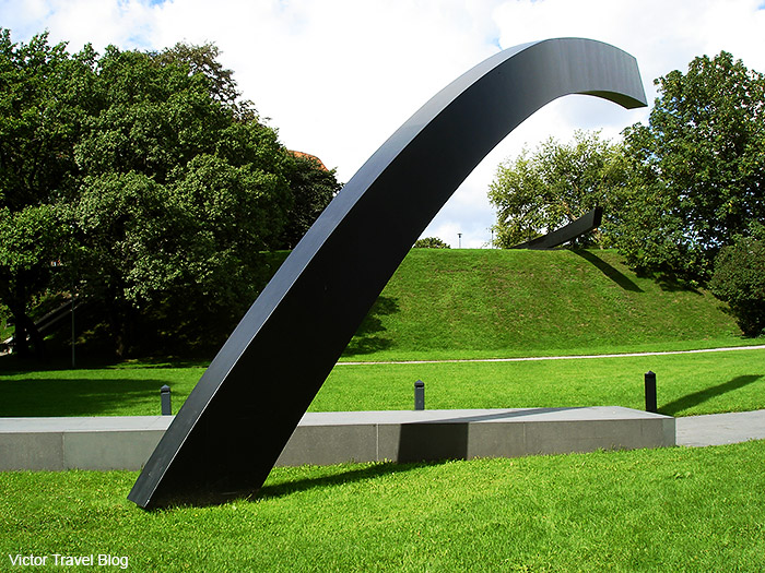 The Broken Line. The Memorial to the Estonia ferry disaster.