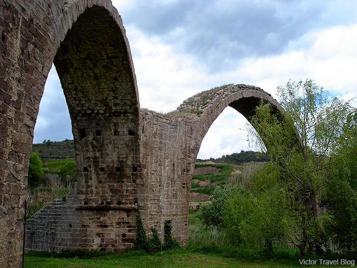 The Devil Bridge, Cardona, Spain.