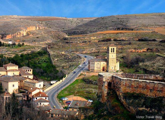 Iglesia Vera Cruz, Segovia, Spain.