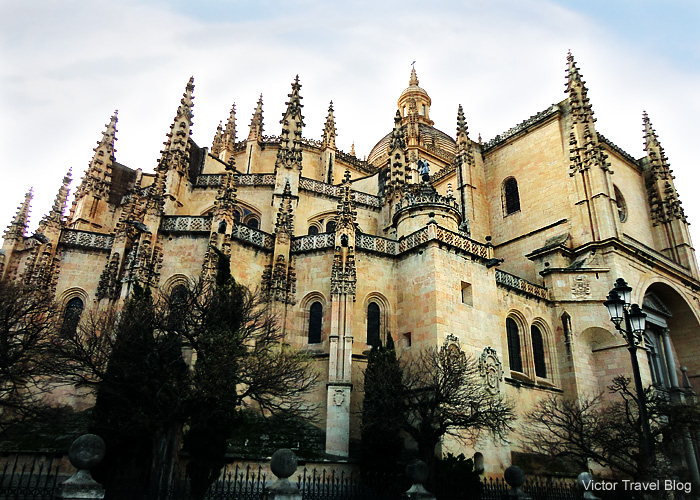 The Segovia Cathedral is known as The Lady of Cathedral.