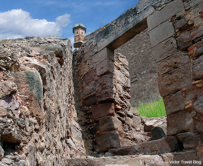 One of the former entries to the Cardona Castle, Catalonia, Spain.