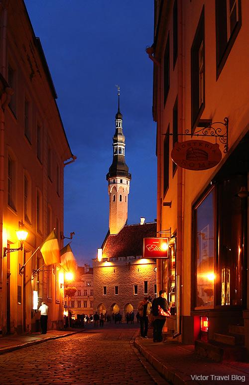 Tallinn Town Hall, Estonia.