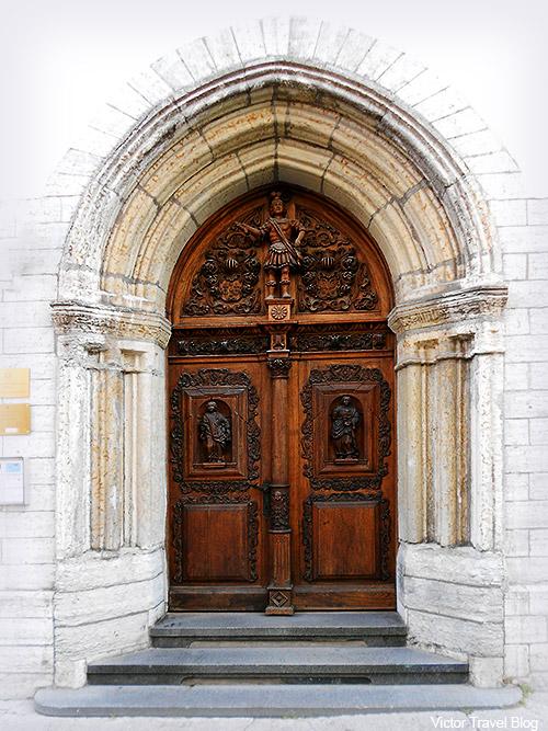 The door. Old Town of Tallinn, Estonia.