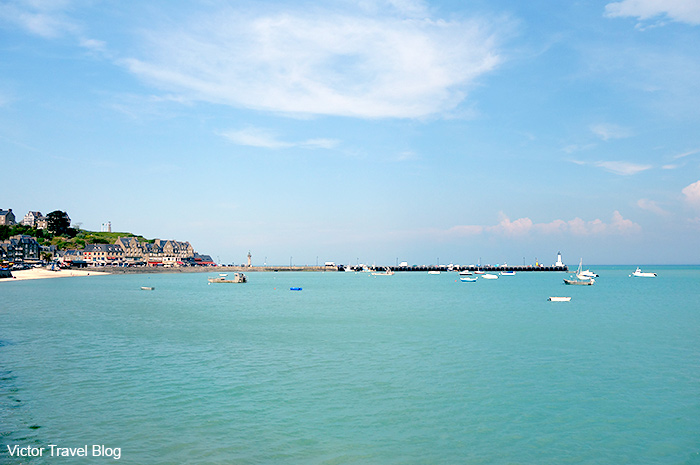 Oyster bay of Cancale, France.