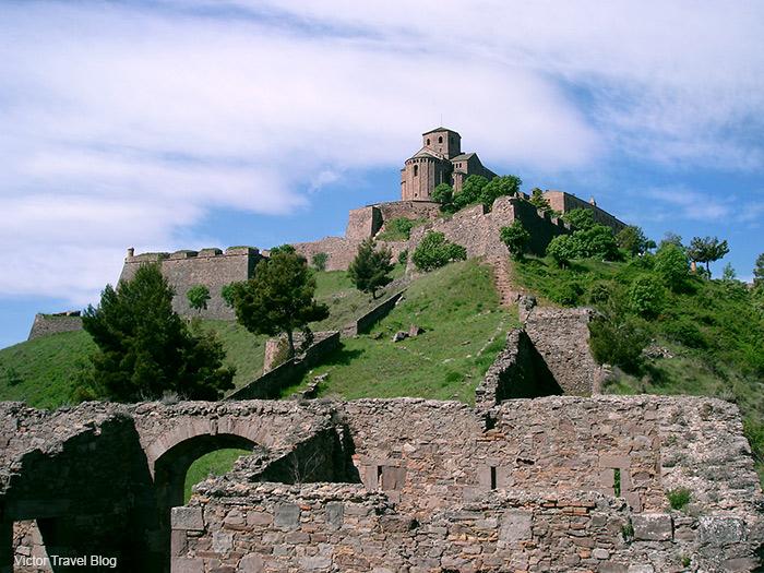 The Castle of Cardona, Cardona, Catalonia, Spain.