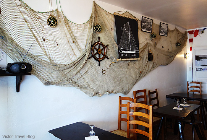 Pied-d-cheval restaurant. Cancale, France.