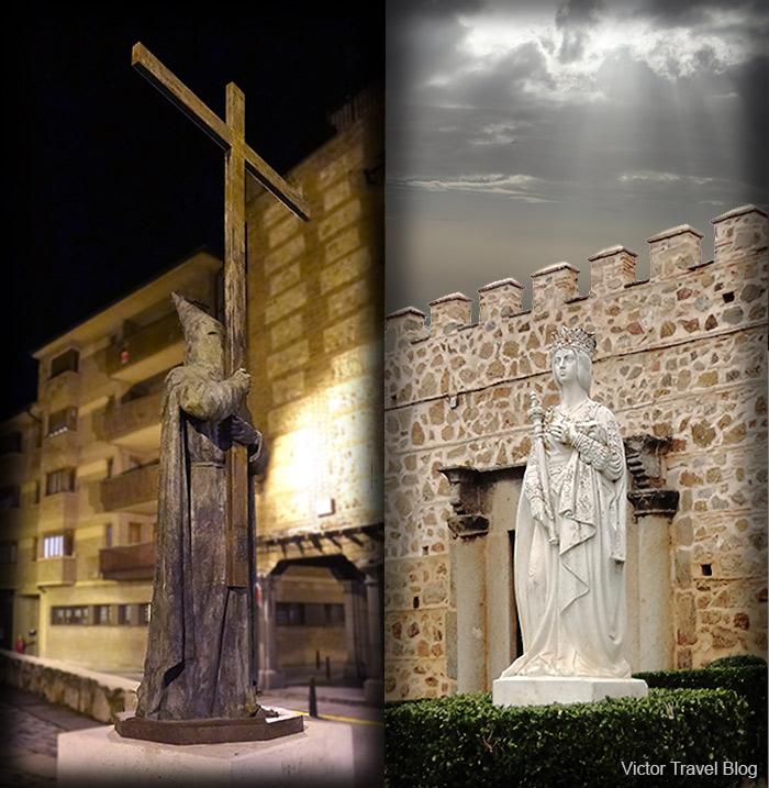 Queen Isabella. Segovia, Spain.