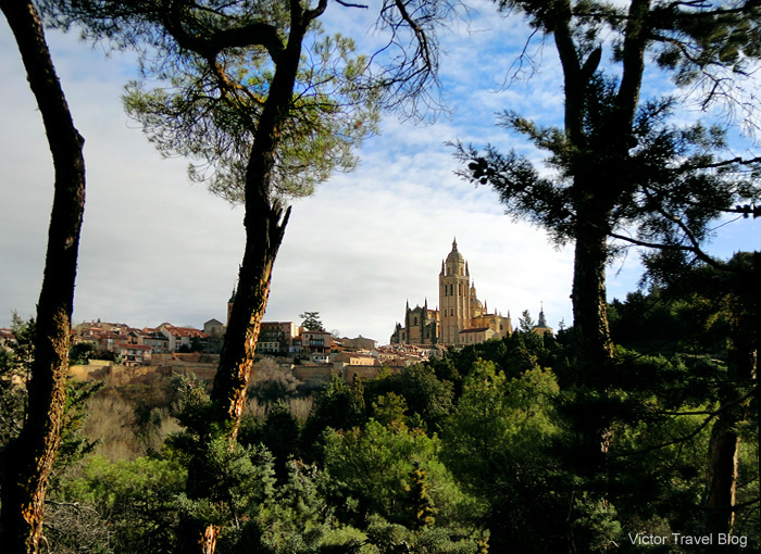 The Сathedral of Segovia. Spain.