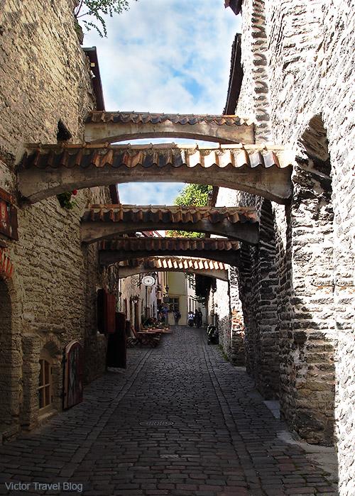 St. Catherine's Passage. Tallinn, Estonia.