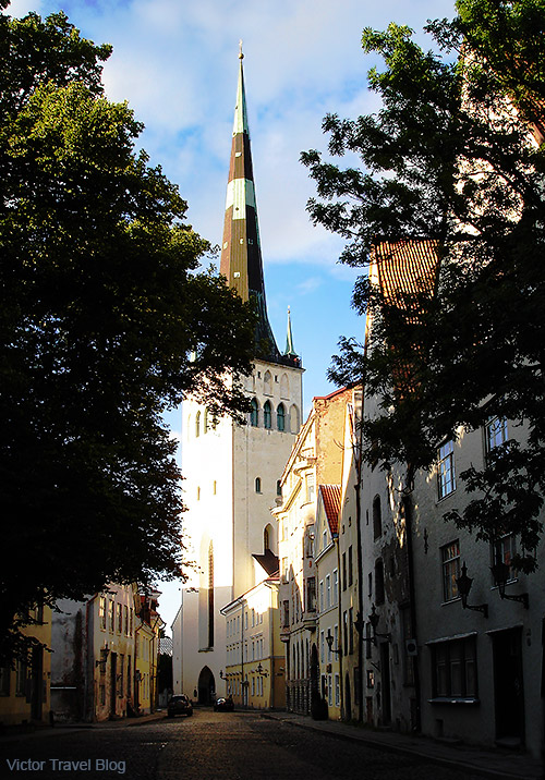 St. Olaf's church was the tallest building in the world from 1549 to 1625. Tallinn, Estonia.